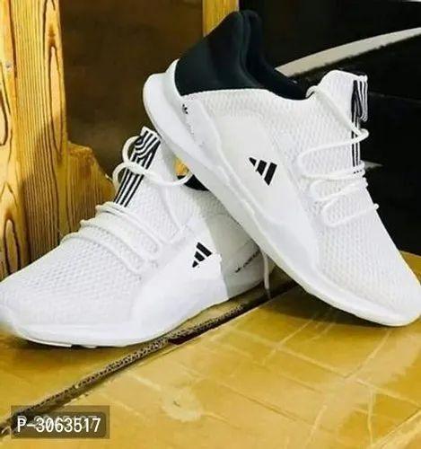 white sports shoes adidas