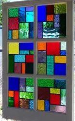 Plain Multicolor Rectangular Window Glass, Size: 3x2 Feet, Thickness: 10mm