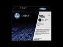 HP 90A Black Original LaserJet Toner Cartridge