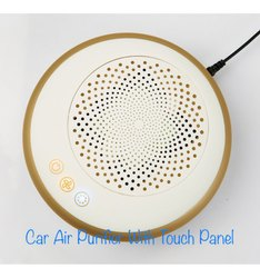 consept white Car Air Purifier, Model Name/Number: AR-105