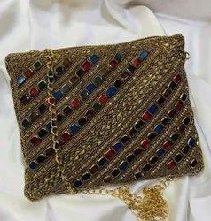 Designer Ethnic Clutch Bag