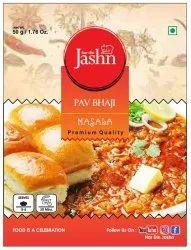 Pav Bhaji Masala, Packaging Size: 50 g, Packaging Type: Pouch