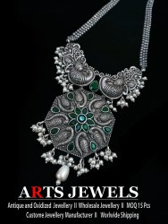 Antique Silver Look Alike Necklace