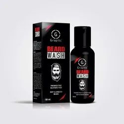 GRAPITS Black Beard Wash, Type Of Packaging: Bottle