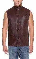 Brown BLSB Modi Men Leather Jackets