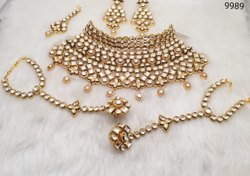 Kundan Choker Bridal Necklace Set