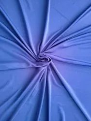 For Garments Royal Blue Plain Micro Polyester Fabric
