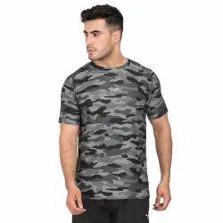 AVVARO 4way Lycra Export Surplus T Shirts Men, Machine wash