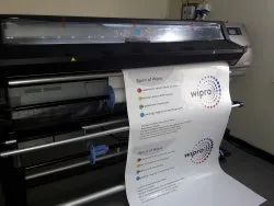 Cold Lamination White HP Latex Vinyl large Printing Service, Location: Pan India, Size: 4 Ft