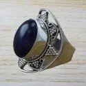 WOMEN JEWELRY MALACHITE GEMSTONE 925 STERLING SILVER NEW RING WR-4506