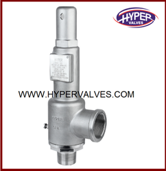 Screwed End Safety Relief Valve