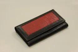 Plain Leather Ladies Wallets, Compartments: 2