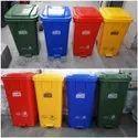 120L Plastic Wheeled Recycling Bin Dustbin