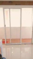 Adroit Interiors Closet Doors Galvanized Steel Sliding Door, For Home
