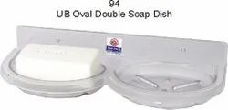 Unbreakable Plastic Soap Dish