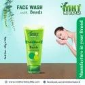 Herbal Green Face Wash With Beads, Age Group: Adults, Packaging Size: 100g & 200g