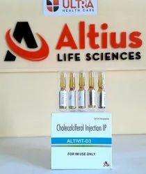 Vitamin D3 Injection (600 000 Iu)