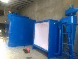 Steel BALAJI POWDER COATING BOOTH, Automation Grade: Automatic