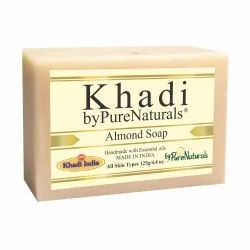 Bypurenaturals Khadi Almond Soap-125g