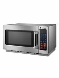 Stainless Steel Rectangular Commercial Microwave Ovens, Capacity: 25 Litres