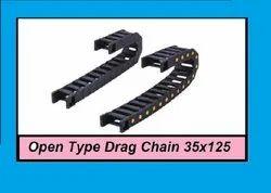 Open Type Drag Chain 35x125