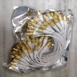 BNC Connector, Cable Mount, Contact Material: Brass