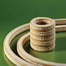 PTFE Aramid Braided Packing Gland, For Industrial, -200 Degree C To 260 Degree C