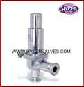 Tri Clover End Pressure Regulator