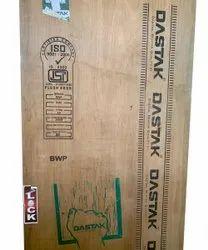 Dastak Brown 100% Gurjan Face Wooden Flush Door, For Home