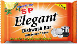 Solid Fmcg SP Elegant Dishwash Bar 140 Grams, Packaging Type: Polypack