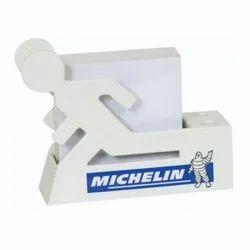 塑料白色GRN-22促销桌顶笔站,为办公室