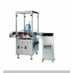 Glass Bottle Air Jet Cleaning Machine