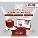 Natural Vedic Wood Kapoor Dani, Packaging Type: Box Packing