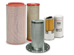 Atlas Copco Air Filter Oil Filters, Air Oil Separator