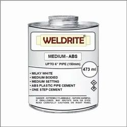 ABS Medium Milky White Solvent Cement (473ml)