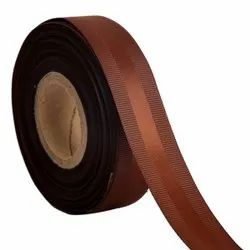 Gross Grain Satin - Brown Ribbons 25mm /1''inch 20mtr Length