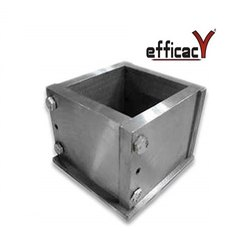 Iron Cube Mould 70.6mm Mortar Cube Mould, Manual, 0.01 Mm