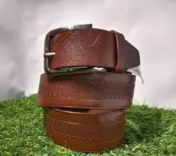 Gala 38 Mm Brown Leather Belt