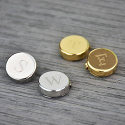 SS Metal Promotional Button Covers, For Shirt, Packaging Type: Pair