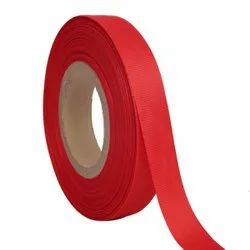 Grosgrain - Red Ribbons 25mm/1''Inch 20mtr Length
