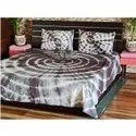 Shibori Dyed Bed Sheet