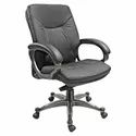 Fabric Leatherette Executive Office Chairs, Size: 625 (w) X 510(d) X 1135(h) Mm
