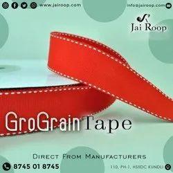 Orange Gro Grain Tape
