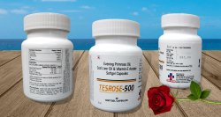 Evening Primrose Oil 500mg Cod Liver Oil 30mg Tesrose-500
