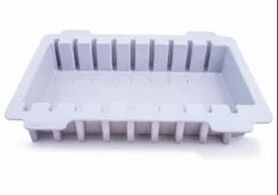 White Plastic Injection Moulding Tray