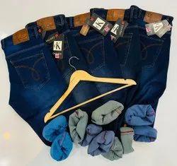 Lycra Plain Mens Jeans, Waist Size: 30