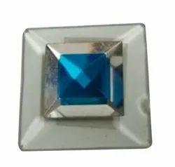 Polished Glass Tukdi, For Decoration, Thickness: 10 Mm