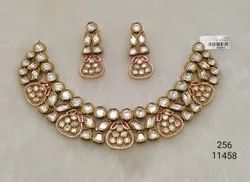Fashion Kundan Necklace Set