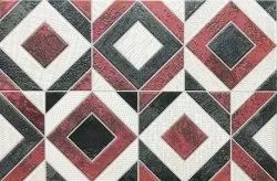 Red Matt Decorative Ceramic Tile, Size: 30*45cm, Thickness: 5-10 mm
