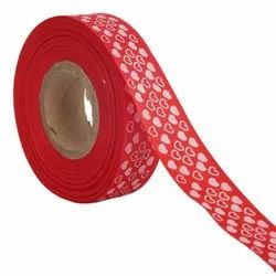 Hearts Red Ribbons 25mm /1''inch Gross Grain Ribbon 20mtr Length